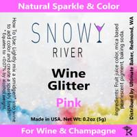 Snowy River Pink Wine Glitter (1x1oz)