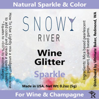 Snowy River Sparkle Wine Glitter (1x1oz)