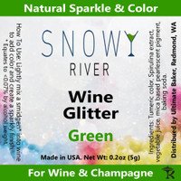 Snowy River Green Wine Glitter (1x1oz)