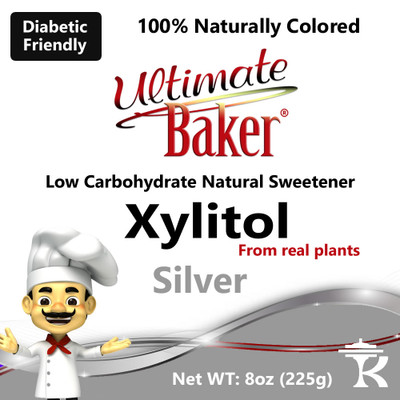 Ultimate Baker Silver Xylitol Natural Sweetener (1x4oz)