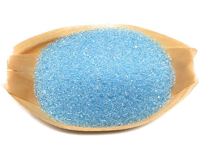 Ultimate Baker Natural Sanding Sugar (Fine Crystals) Pastel Blue (1x8oz)