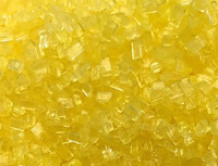 Ultimate Baker Natural Decorating Sugar Yellow Shine