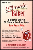 Ultimate Baker Sportz Blend Sanding Sugar San Fran Mix (1x16lb)