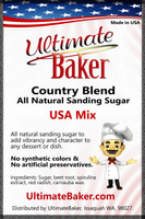 Ultimate Baker Country Blend Sanding Sugar USA Mix (1x16lb)
