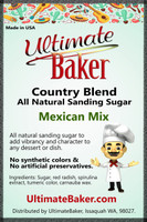 Ultimate Baker Country Blend Sanding Sugar Mexican Mix (1x16lb)