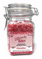 Ultimate Baker Country Blend Sanding Sugar Canada Mix (1x8oz Glass)