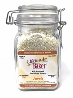 Ultimate Baker Natural Sanding Sugar Jewels (1x8oz Glass)