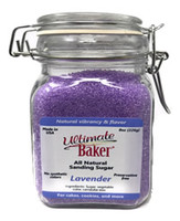 Ultimate Baker Natural Baker's Sugar Lavender (1x8oz Gift Bottle)
