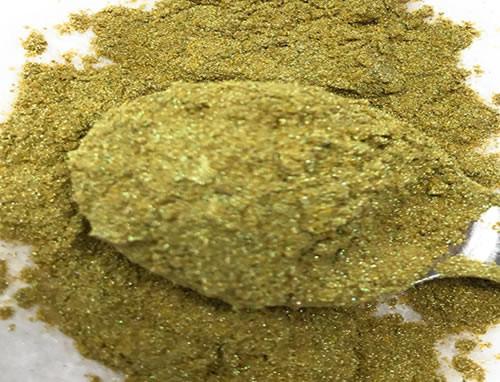 Ultimate Baker Luster Dust Holly Green