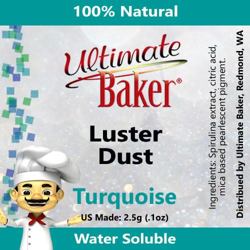 Ultimate Baker Luster Dust Turquoise (1x2.5g)