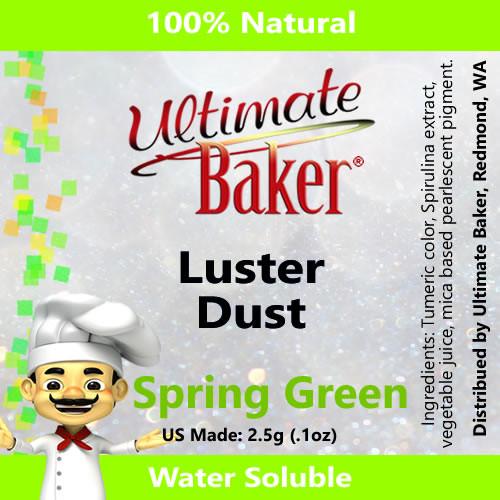 Ultimate Baker Luster Dust Spring Green (1x2.5g)