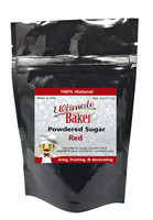 Ultimate Baker Natural Powdered Sugar Red (1x4oz Bag)