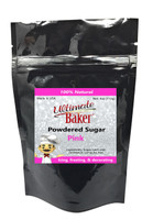 Ultimate Baker Natural Powdered Sugar Pink (1x4oz Bag)