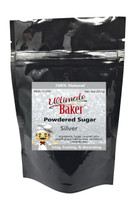 Ultimate Baker Natural Powdered Sugar Silver (1x8oz Bag)