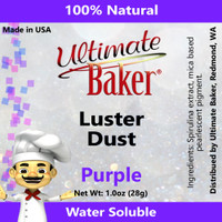 Ultimate Baker Luster Dust Purple (1x28g)