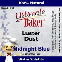 Ultimate Baker Luster Dust Midnight Blue (1x56g)