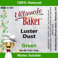 Ultimate Baker Luster Dust Green (1x56g)