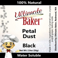Ultimate Baker Petal Dust Black (1x56g)