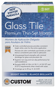 Glass Tile Premium Thin-Set Mortar