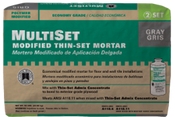 MultiSet Economical Thin-Set Mortar - Gray