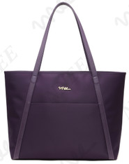 NNEE Large Water Resistance Nylon Travel Tote Shoulder Bag - Purple