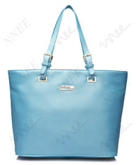 NNEE Top Handle Handbag Tote Bag With Adjustable Handle & Multiple Pocket Design - Teal