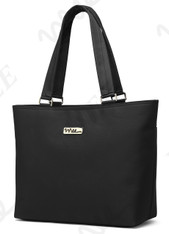 NNEE 13 13.3 Inch Water Resistance Nylon Laptop / MacBook Tote Bag Computer Travel Carrying Bag - Black