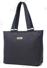 NNEE 13 13.3 Inch Water Resistance Nylon Laptop / MacBook Tote Bag Computer Travel Carrying Bag - Black Gray