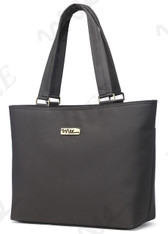 NNEE 13 13.3 Inch Water Resistance Nylon Laptop / MacBook Tote Bag Computer Travel Carrying Bag - Gray