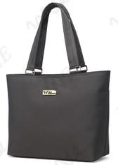 NNEE 13 13.3 Inch Water Resistance Nylon Laptop / MacBook Tote Bag Computer Travel Carrying Bag - Gray