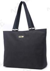 NNEE 15 15.6 Inch Water Resistance Nylon Laptop / MacBook Tote Bag Computer Travel Carrying Bag - Black Gray
