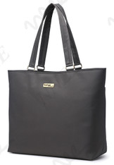 NNEE 15 15.6 Inch Water Resistance Nylon Laptop / MacBook Tote Bag Computer Travel Carrying Bag - Gray