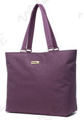 NNEE 15 15.6 Inch Water Resistance Nylon Laptop / MacBook Tote Bag Computer Travel Carrying Bag - Purple