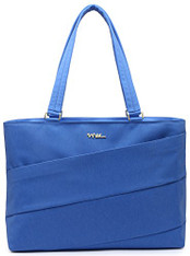 NNEE 15 15.6 Inch Water Resistance Nylon Laptop / MacBook Tote Bag Notebook Computer Work Handbag Travel Carrying Bag- Blue