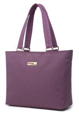 NNEE 13 13.3 Inch Water Resistance Nylon Laptop / MacBook Tote Bag Computer Travel Carrying Bag - Purple