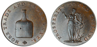 Dinmore & Son, Copper Halfpenny (D&H Norfolk 23)
