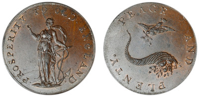Peter Kempson, Copper Halfpenny Mule (D&H Norfolk 26e)
