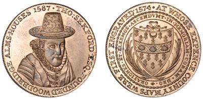 Robert Loder, Copper Penny, 1796 (DH Suffolk 15)
