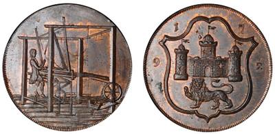 John Harvey, Copper Halfpenny, 1792 (D&H Norfolk 40)