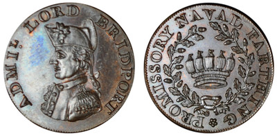 Skidmore & Son, Naval Farthing (D&H Hampshire 97)