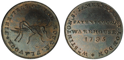 William Stinton, Copper Halfpenny, 1795 (D&H Middlesex 904a)