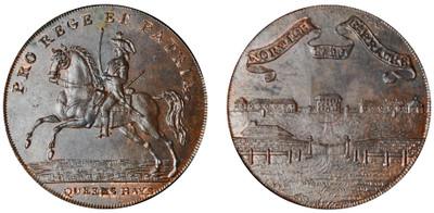 John Rooks, Commercial Halfpenny, 1793 (D&H Norfolk 48)