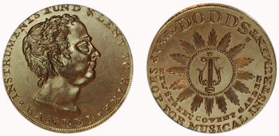 Thomas Dodd, Copper Halfpenny  (D&H Middlesex 300)