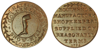 Thomas Hatfield, Commercial Halfpenny, 1795  (D&H Middlesex 323)
