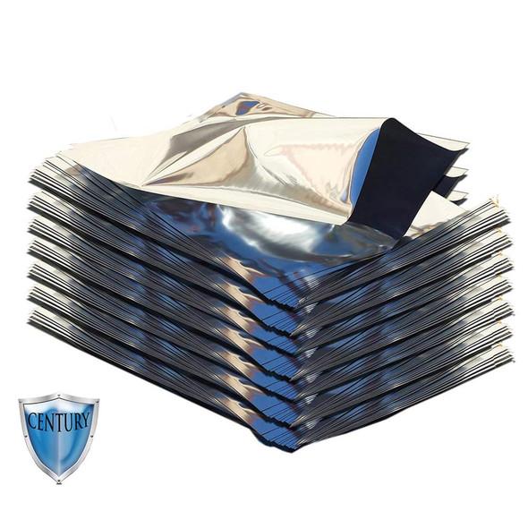 (100)Gallon 5 mil Premium Century Mylar Bags for long term food storage