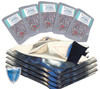 (50)Gallon 5 Mil HD mylar bags with 500cc oxygen absorbers