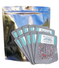 Gallon Stand up mylar bags with 500cc oxygen absorbers