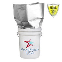 5 Gallon Seal Top  Mylar bags Heavy Duty