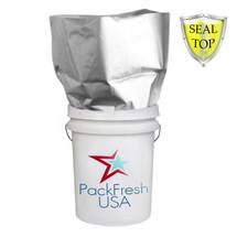 5 Gallon Seal Top  Mylar bags Heavy Duty