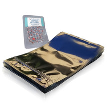 3.5 Mil Seal-Top Mylar Bags with oxygen absorbers